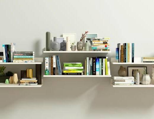 书籍, 陈设品, 摆件, 书, 现代, 摆设, 书架
