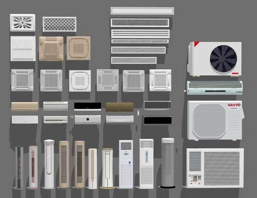 现代, 空调, 中央空调