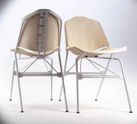 休闲椅, 单椅, 餐椅, 实木, 现代
