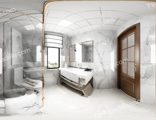 卫浴, 卫生间, 洗手台, 淋浴间, 现代卫浴, 现代