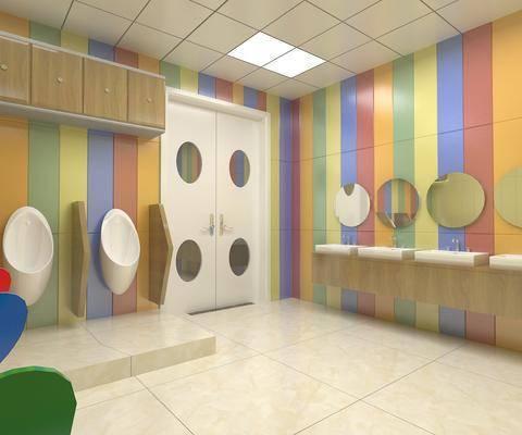 卫生间, 马桶, ?#35789;?#21488;, 装饰镜, 现代