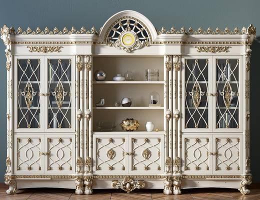 书柜, 柜架组合, 装饰柜架
