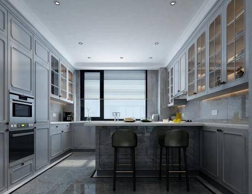 厨房, 整体橱柜, ?#21830;?#21543;椅, 单人椅, 酒柜, 摆件, 装饰品, 陈设品, 后现代