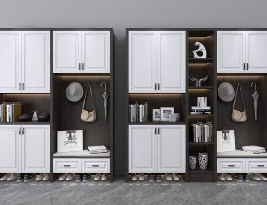 衣柜, 鞋柜, 现代衣柜