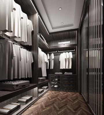 衣架, 衣帽间, 服装, 服饰, 衣服