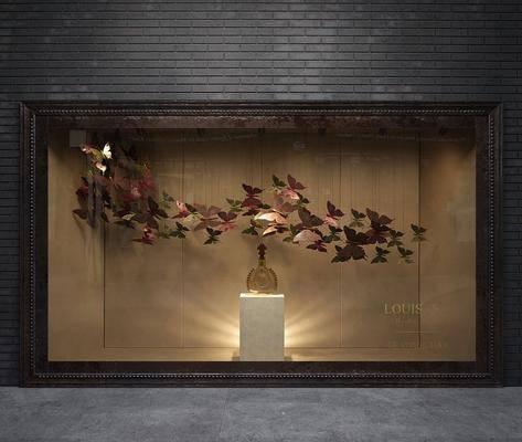 橱窗, 现在, 装饰品, 展示柜, 现代