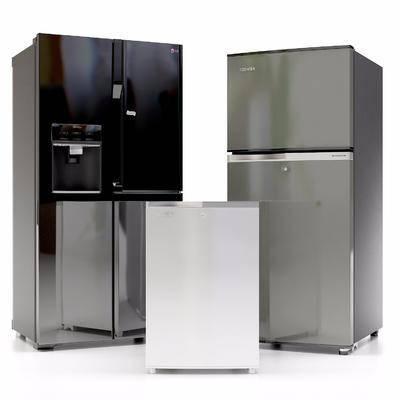 冰箱组合, 冰柜, 现代