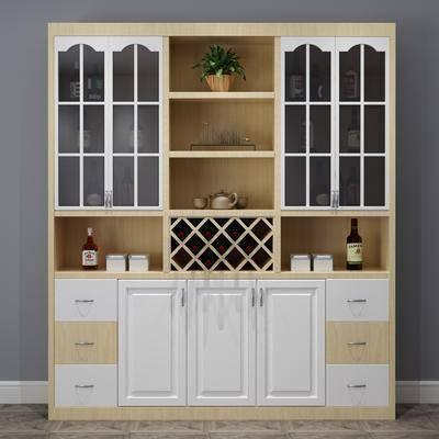 現代酒柜, 酒柜, 置物柜