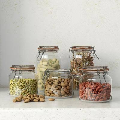 玻璃瓶, 食品, 现代