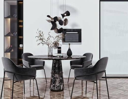 桌花, 吊灯, 摆件, 装饰品, 酒柜