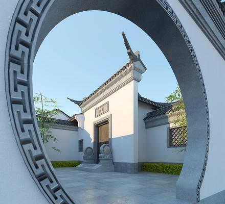 中式, 门头