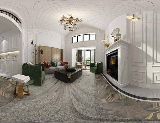 北欧客厅, 客厅, 现代客厅