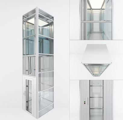 现代, 电梯, 观光电梯