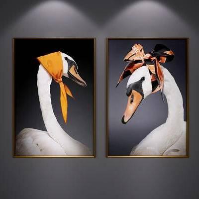现代装饰挂画, 北欧装饰挂画, 现代艺术画, 现代, 北欧