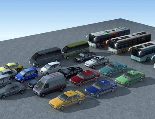 汽車模型, 現代