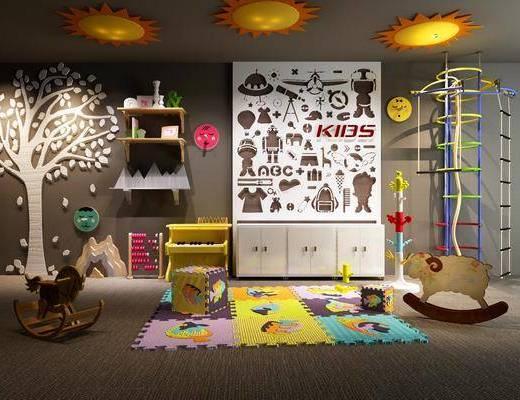 儿童房, 玩具, 墙饰, 摆件, 装饰品, 陈设品, 北欧