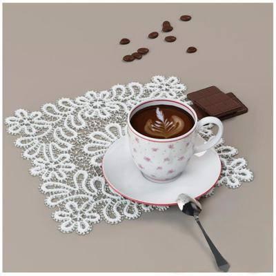 摆件, 咖啡, 现代
