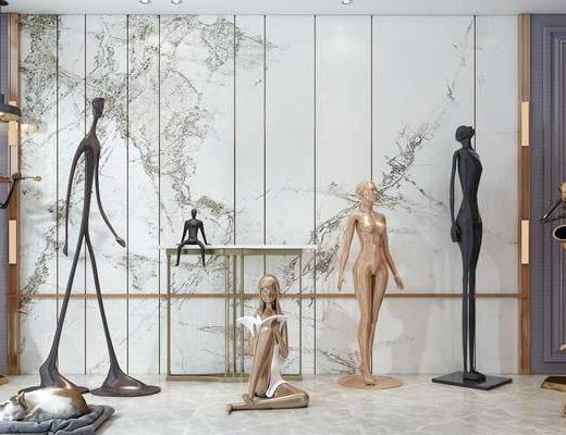 饰品, 雕塑, 雕塑摆件