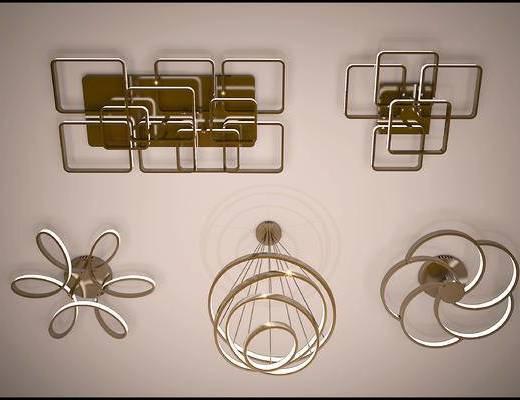 吊灯, 吸顶灯, 灯具, 灯, 金属吊灯