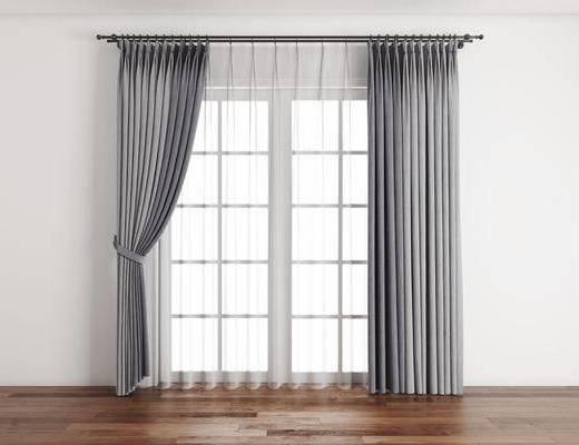 窗帘, 布艺