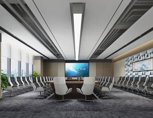 會議室, 會議桌椅組合, 辦公桌椅組合, 現代