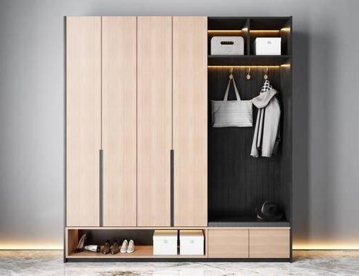 现代, 鞋柜, 衣柜