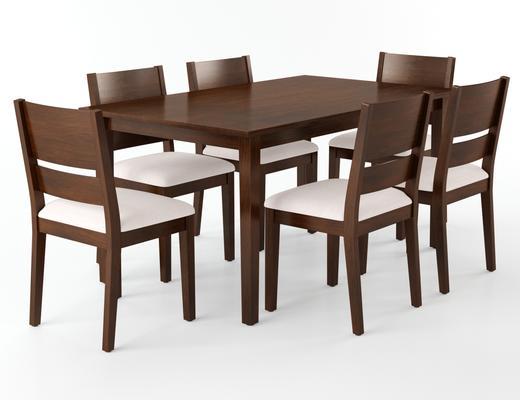 桌椅组合, 中式