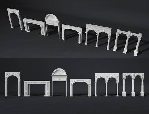 门拱, 现代