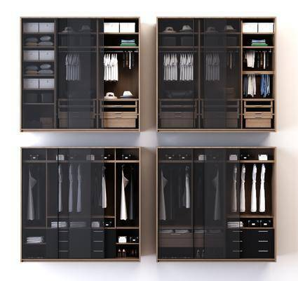 衣柜组合, 现代
