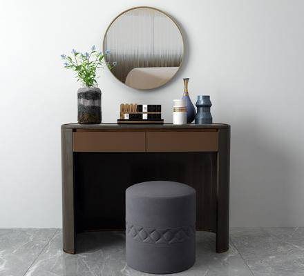 梳妝臺, 桌椅組合, 擺件