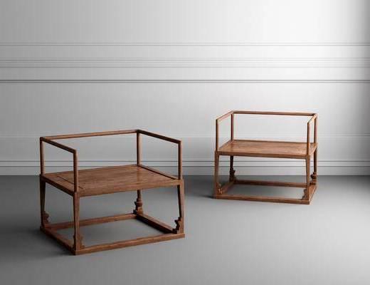 中式圈椅, 圈椅, 单椅