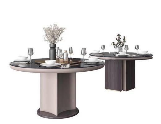 餐桌, 餐具组合, 摆件组合