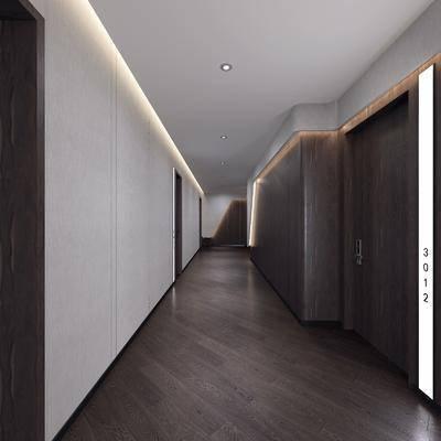 ?#39057;?#36807;道, 走道地板, 地板走廊, 现代