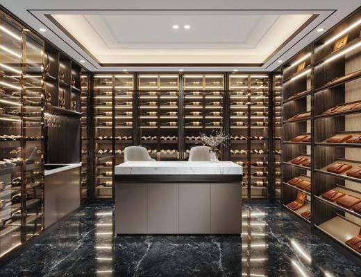 新中式, 酒窖, 工装