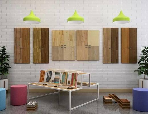 木板, 地板, 板材