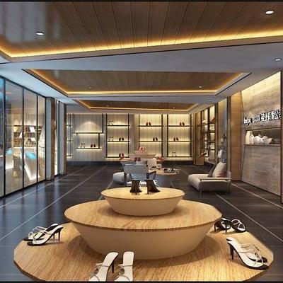 现代, 鞋店, 商店