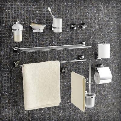 浴架, 洗漱用品, 现代