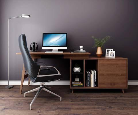 現代, 書桌, 桌椅組合