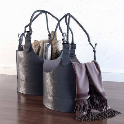 手提包, 皮革手提包, 木柴, 现代