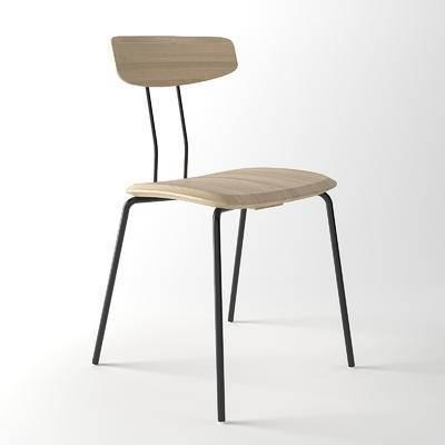 办公座椅, 现代, 北欧, 单椅, 椅子, 休闲椅