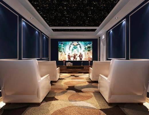影视厅, 单椅