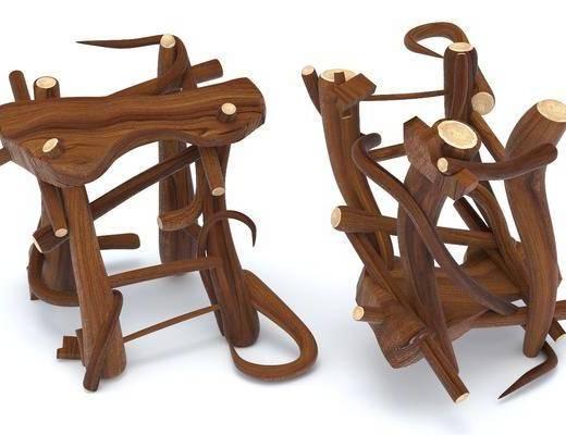 现代, 小凳子, 组合