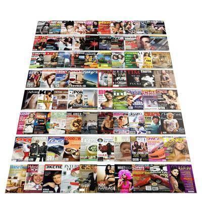 书籍, 杂志, 现代