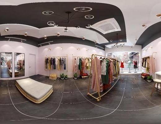 服装店, 服饰, 衣架