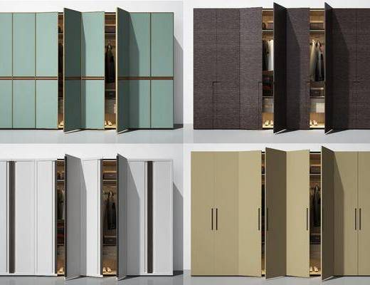 衣柜, 衣服, 现代衣柜, 服饰, 现代, 双十一