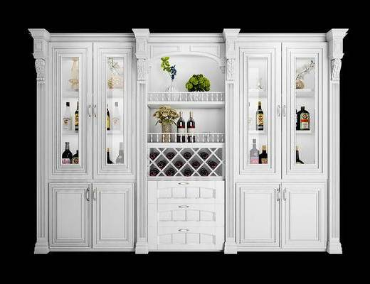 酒柜, 柜, 置物柜, 欧式酒柜, 欧式