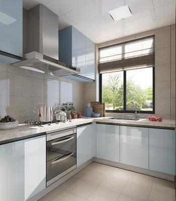 厨房, 橱柜组合, 厨具组合, 洗手台, 新中式厨房