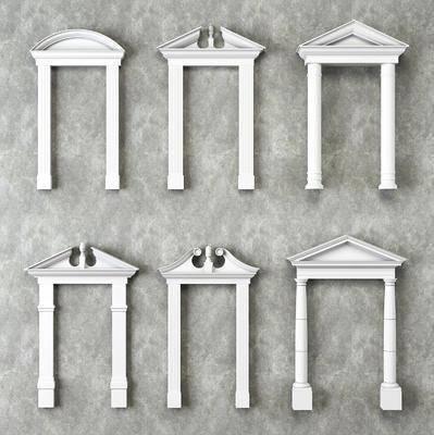 石膏线, 门头, 门洞, 欧式