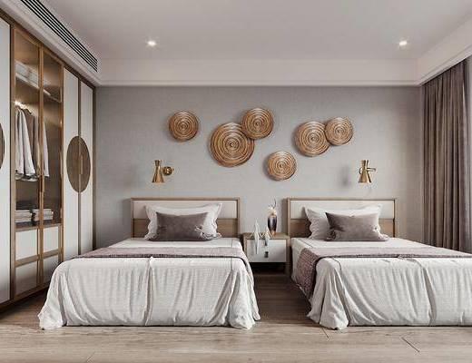 现代, 民宿, 酒店, 客房