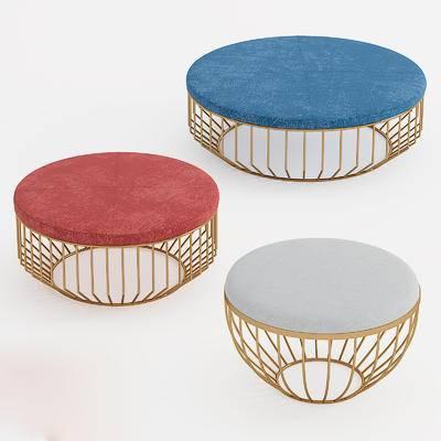 后现代, 椅子, 凳子, 圆椅, 圆凳